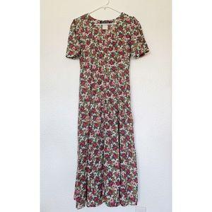 Vintage Floral All That Jazz Maxi Dress